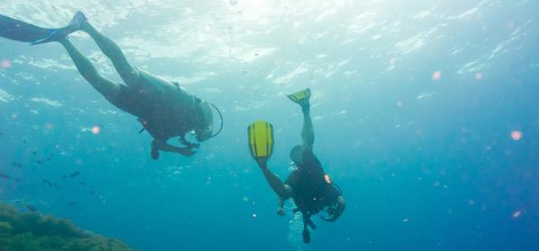 Scuba Divers, Thailand