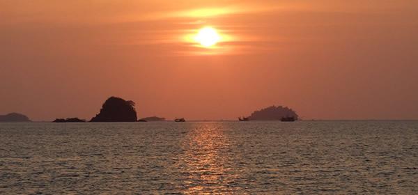 Sunset, Koh Chang