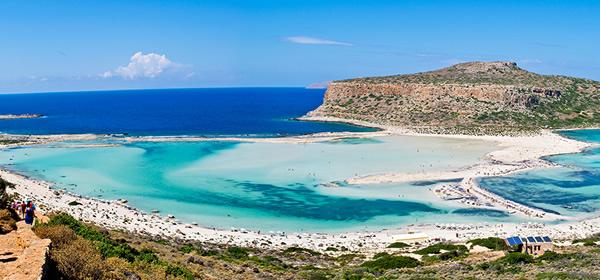 Mpalos Beach, Crete