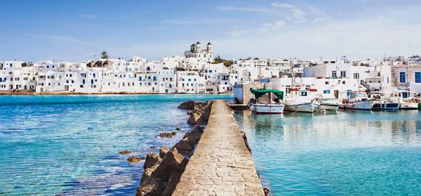 Greek fishing village, Paros