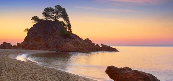 Cap Roig Beach, Costa Brava