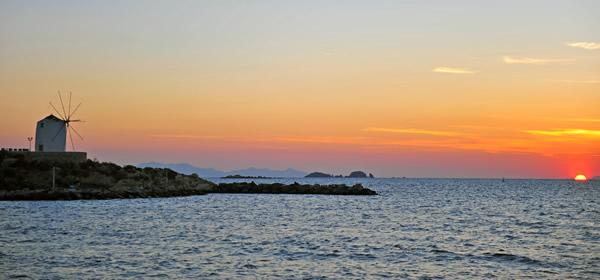 Sunset, Paros