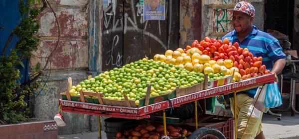 Fruit Seller Cartagena