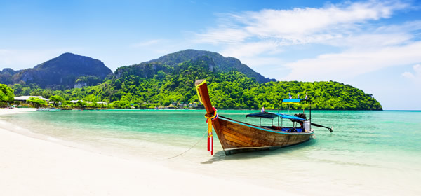 Longtailed Thai Boats
