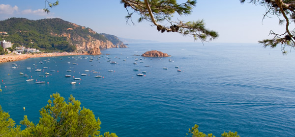 The beautiful Costa Brava