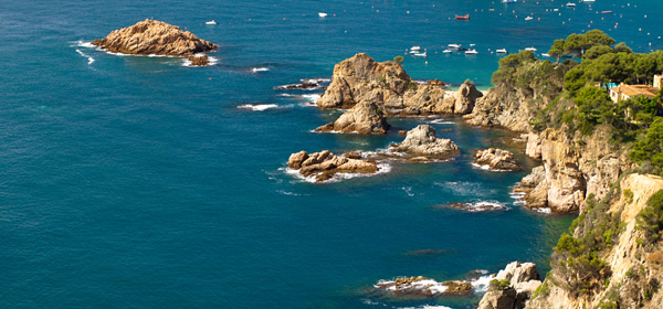 The rugged Costa Brava