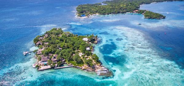 Islands close to Cartagena