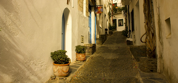 The Narrow Streets of Cadaques