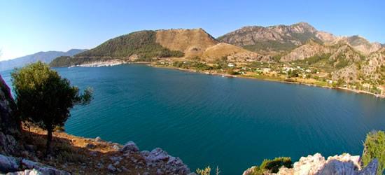 The Bay of Orhaniye