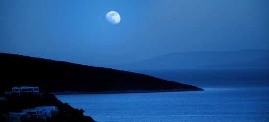 The Bay of Orhaniye, Twilight