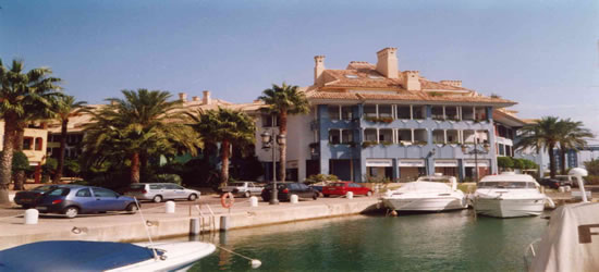 The Port of Sotogrande, Costa del Sol, Spain
