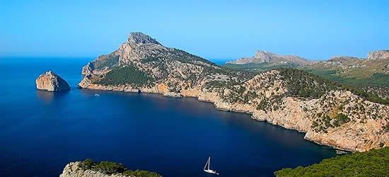 La costa nordorientale di Maiorca
