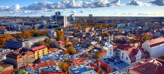 Tallinn, Old Town Skyline