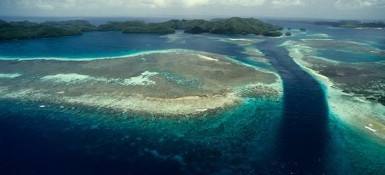 Man made Passage through the Reef