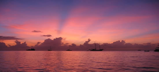 Colors of Dawn, St Lucia
