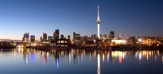 Auckland Skyline, New Zealand