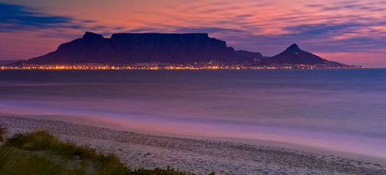 View from Lions Head of Table Mountain