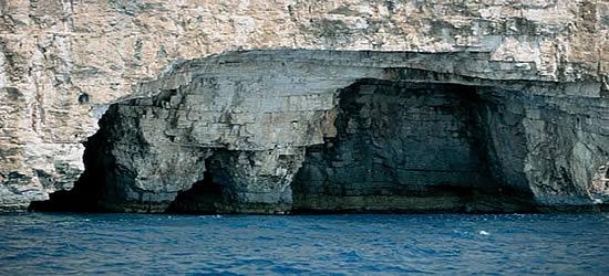 Sea Caves of Kornati Islands