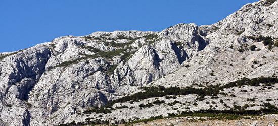 Mountains of Tucepi