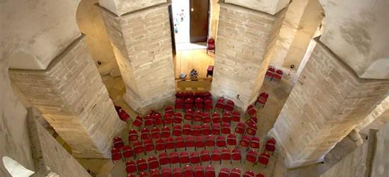 Interior of St Donat's Church