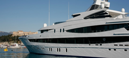 Mega Yacht of Antibes