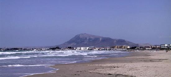 Beach of Denia