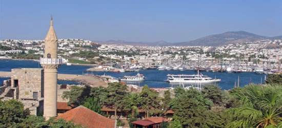 The Port of Bodrum