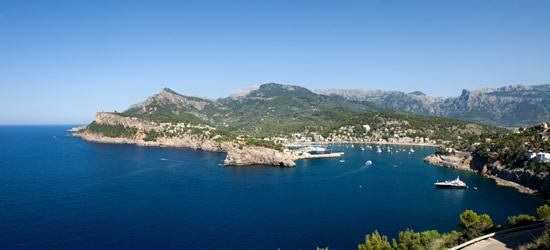 Entrance of Port de Soller, Mallorca, Balearics