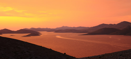 Breathtaking Sunset, the Kornati Region