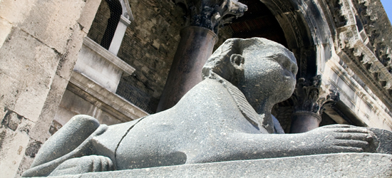 Sphinx, Diocletian's Palce, Split