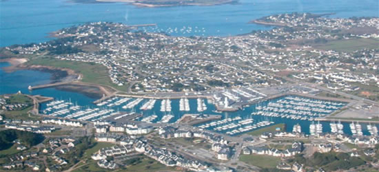 Aerial Photo of Crouesty, Brittany