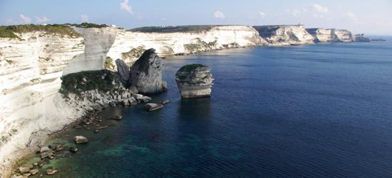 White Cliffs of Bonifacio, Corsica