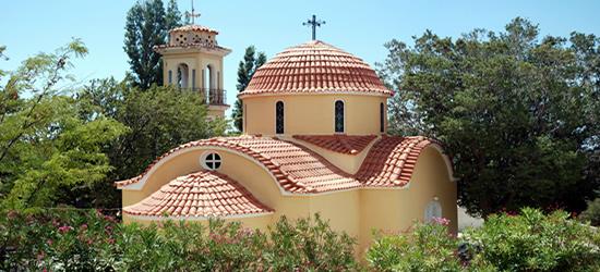 Orthodox Monastery, Chios, Sporades