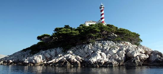 Fari nelle Isole Kornati
