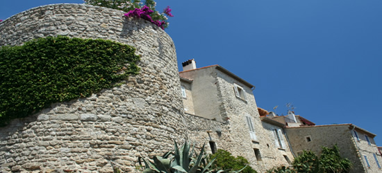 The Old Town Walls, Antibes