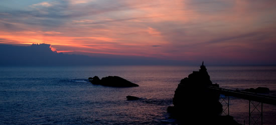 Evening Sunset, Basque Coast