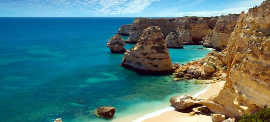 Quiet Cove at Praia de Marinha