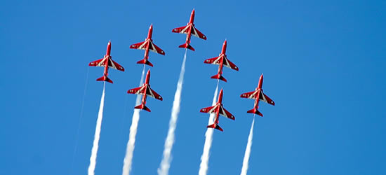 The Red Arrows, Cowes Week
