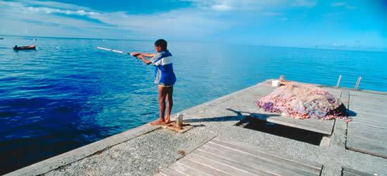 Local Boy Fishing