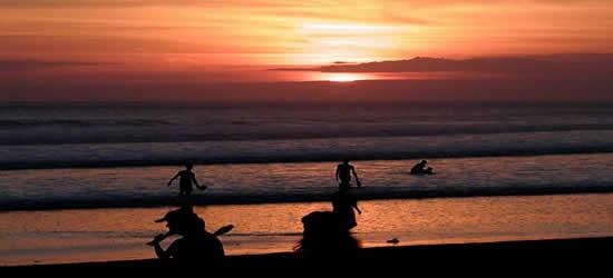 Bali, The Land of Sunsets, Kuta Beach