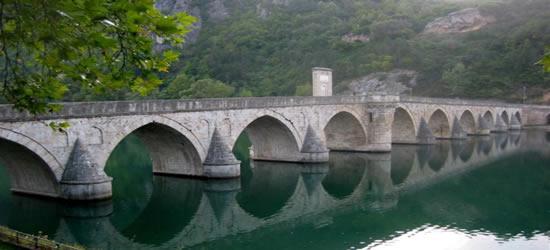 The Drina Bridge