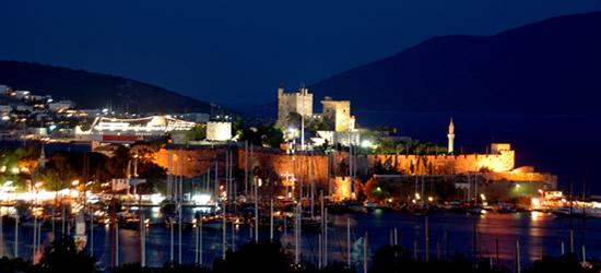 Bodrum Castle at Night