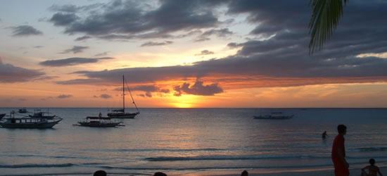 China Sea, Sunset