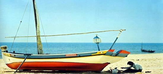 Lanteen Sail, Fishing Boats