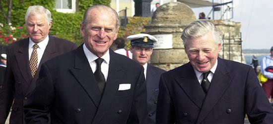 HRH Prince Philip at Cowes Week