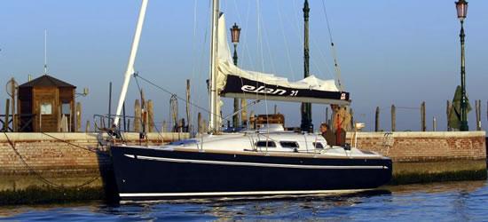 Elan 31 Venice North Adriatic Inter Yacht Charter
