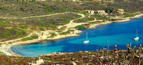 Small bay near Calvi, Corsica