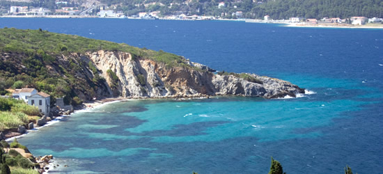 Beautiful Coastline of Samos