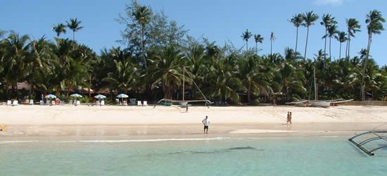 The Famous White Sands Beach