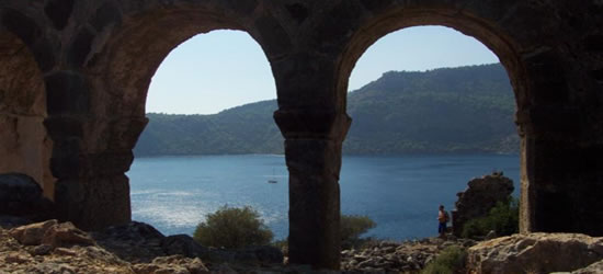 The Mountain Ruins of Fethiye
